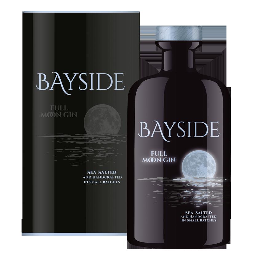 Einzelflasche BAYSIDE FULL MOON LUMINOUS GIN