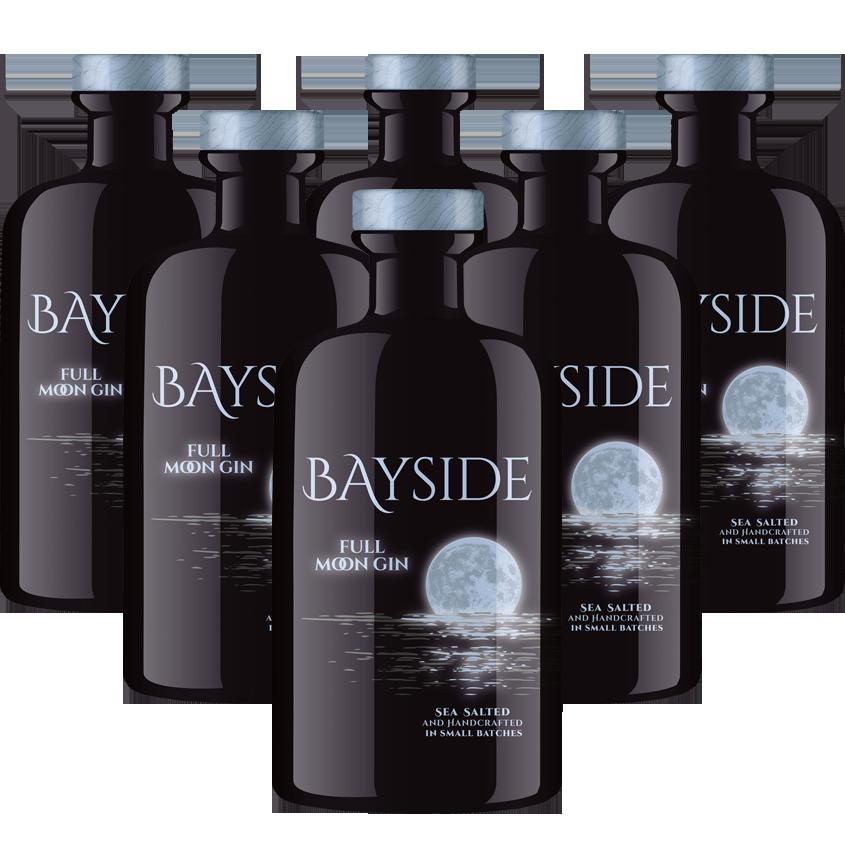 BAYSIDE FULL MOON LUMINOUS GIN SIXPACK